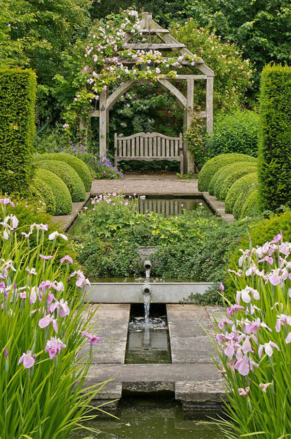 Garden Design Ideas: 38 Ways to Create a Peaceful Refuge on idea landscaping small garden design, deck idea garden design, idea water garden book, asian style patio design, idea living outdoor backyard design, japanese backyards waterfalls design, new zealand water design, indoor water fountain design, idea patio design with pergola, outdoor garden fountain design, exterior landscape design, outdoor landscape garden design, outdoor wall water fountains design, idea small garden bench, natural landscape design,