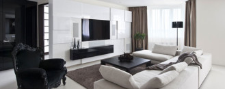 Modern Elegance Showcased In Zelenograd Apartment