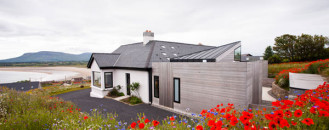 Award-Winning Casa Mullaghmore Rising From A Flower Field