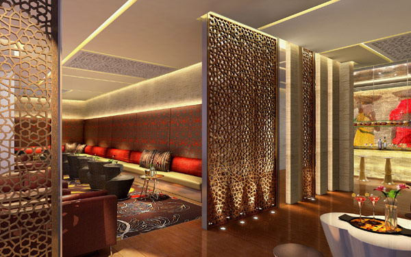 New Kempinski Ambience Hotel Displaying Traditional Indian Patterns ...
