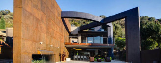 Dynamic Residential Project Defined By Concrete Framing