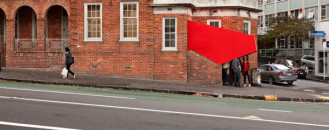 Engaging Architectural Installation On Auckland's Streets