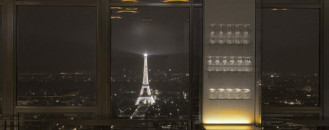 Skilled Modern Design Composition and Remarkable Views: Ciel de Paris Restaurant