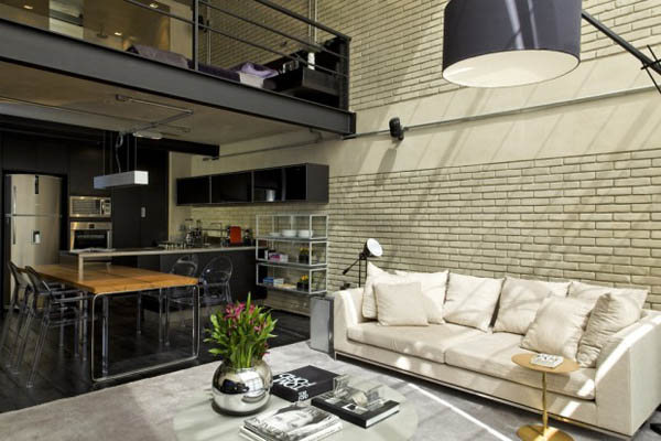 This Brazilian Bachelor Pad Explores Soft Industrial Masculine Style