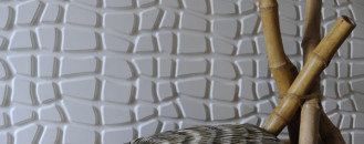 New 100% Recycled and Biodegradable 3D Wall Panels by WallArt