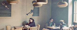 Cardboard, Coffee and Culture Defining L'Atelier Cafe in Cluj, Romania