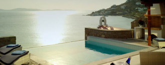 Cycladic Luxury Beach Resort Heaven On Mykonos Island