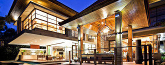 Spectacular Mix of Raw Materials and Color Displayed by SGNW House in South Africa