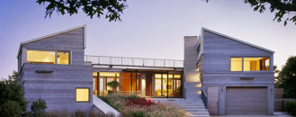 Color and Design Originality Showcased by Up-Over-Between House in USA