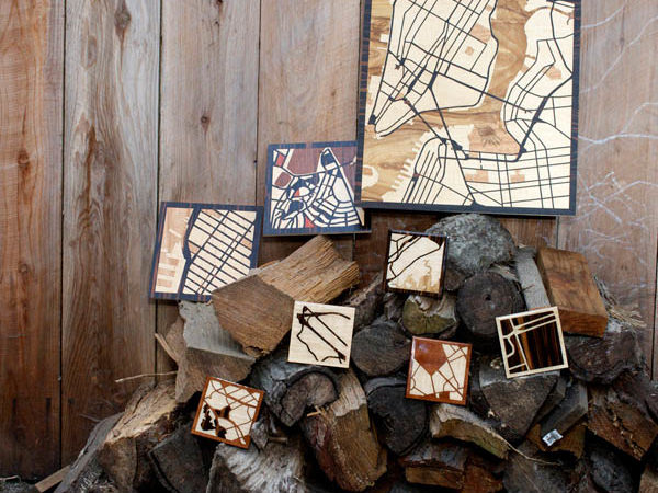 Laser-Cut Exotic Hardwoods Shaping Your Favorite Woodcut Maps