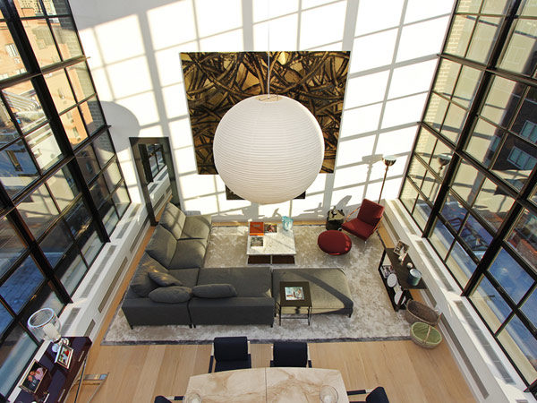 Spectacular Duplex Penthouse in New York Defying the Urban Racket