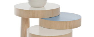 Versatile TOAD Side Table Exploring New Forms of Stability by Philipp Beisheim