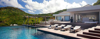 Stylish Caribbean Hideaway: ETR Modern Holiday Villa in St. Barts