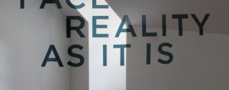 Clever Anamorphic Typography Project for Interiors with a Twist