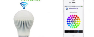 Next-Gen Bluetooth Bulb Controllable Via Smartphone