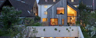 Historic Farmhouse Turned Into Original Office Space in Switzerland