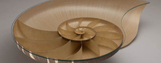 Walnut And Sycamore Veneer Shaping Nautilus' Perfect Proportions