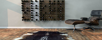 Stylishly Displaying Your Growing Wine Collection : STACT Modular Wine Wall