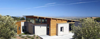 Smart Hillside Home Using Solar Orientation And Passive Ventilation