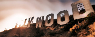Hollywood Sign as It Was Never Seen Before by Ted VanCleave