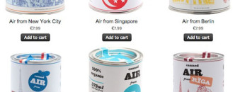 Strange, Yet Original Souvenir: Canned Air From Your Favorite City