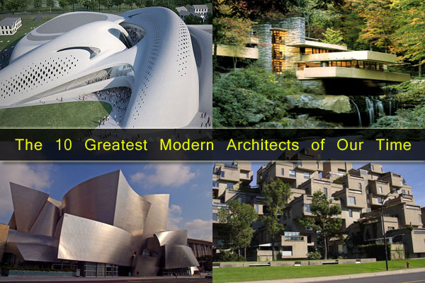 Iconic Legends: The 10 Greatest Modern Architects of Our
