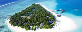 Miniature Paradise Emerging From Blue Waters: Angsana Velavaru Resort, Maldives