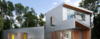 Delightful Country Home Details Wrapped in Aluminum Clad: Dutchess House No.1