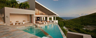Distinct Geometry and Enthralling Caribbean Views: 100 Pond Bay Estate