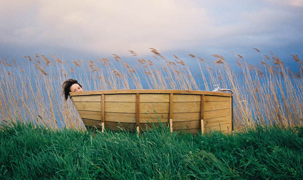 Floating Above Your Cares In The Striking BathBoat
