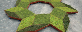 Fabricating Informal Gardens: Diamond-Shaped Garden On Wheels