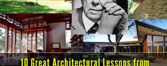 10 Great Architectural Lessons from Frank Lloyd Wright