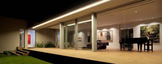 """Modern """"Z""""-Shaped Home Assimilated With a Rich Natural Landscape in Israel"""