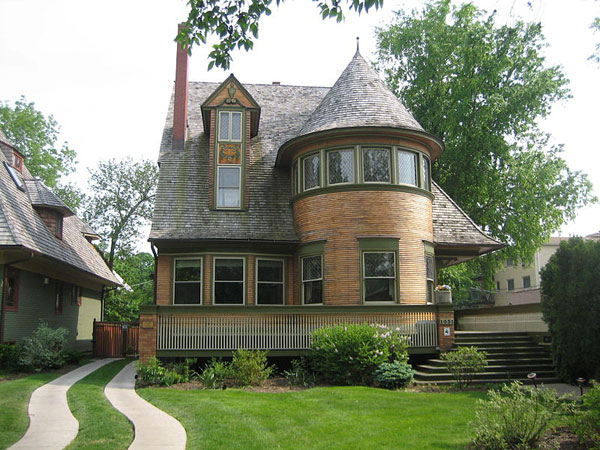 Walter H Gale House Designed By Frank Lloyd Wright