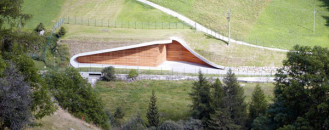 Striking, Yet Noninvasive Hydroelectric Power Plant Design in Italy