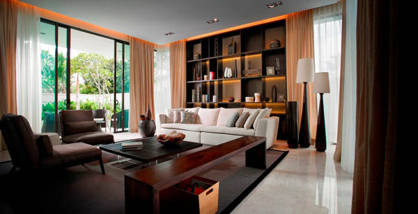 stylish home ambiance mixed up with resort style living freshome com rh freshome com