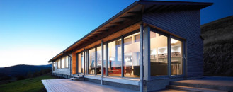 Eco-Friendly Residence on the Cliffs of Scotland by Simon Winstanley Architects