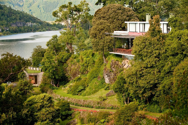 The Iconic Antumalal Hotel In Chile, Influenced by Frank Lloyd Wright