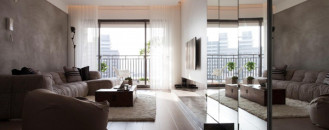 Uplifting Taiwanese Design Style Exposed in Contemporary Apartment