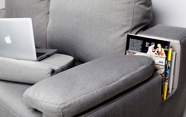 The Elegant Bookshelf Sofa: Connect by Joan Rojeski
