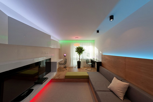 Rainbow-Like Illumination System Brings Some Fun to Your Home