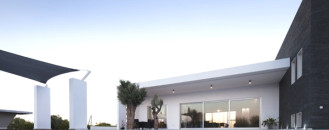 Contemporary Funnel-Shaped Residential Project in Cyprus
