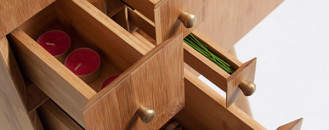Fun, Practical and Versatile Cabinet Inspired by the Fibonacci Sequence