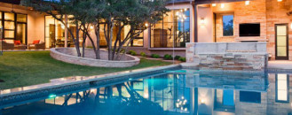 Striking Home Design With Opulent Features in Spanish Oaks, Texas