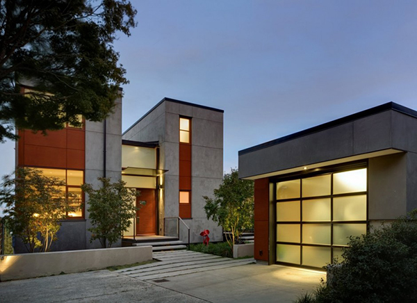 Concrete Based Stylish Residence in Seattle, Washington