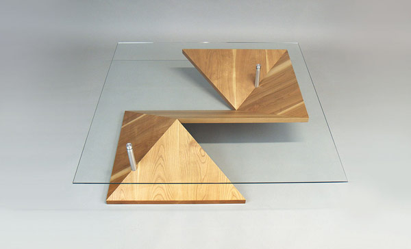 Stylish, Exotic and Highly Customizable: Origami Coffee Table