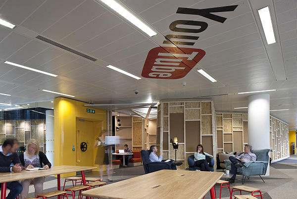 Striking Youtube Offices In London Designed With A Film