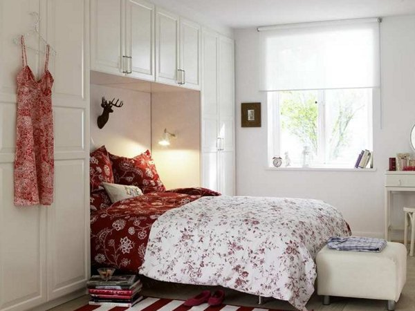 Collect This Idea Photo Of Small Bedroom Design And Decorating Red White