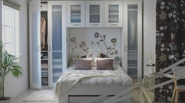 Collect This Idea Photo Of Small Bedroom Design And Decorating White Fl Print