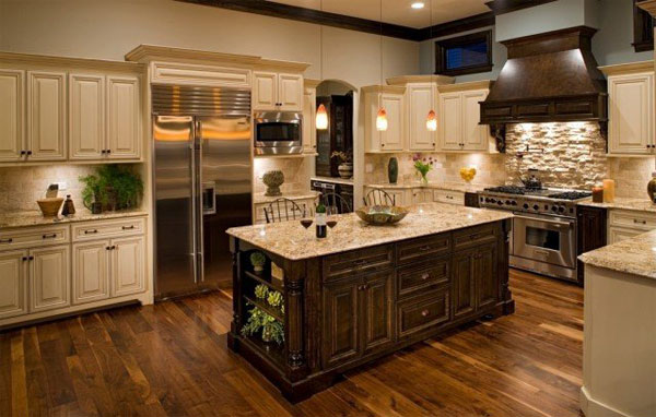 L Shaped Kitchen Design Small Traditional Designs And Layout ...